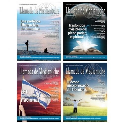 Suscripción ANUAL Revista + Almanaque de Israel 2019 + Aprendamos a Perdonar