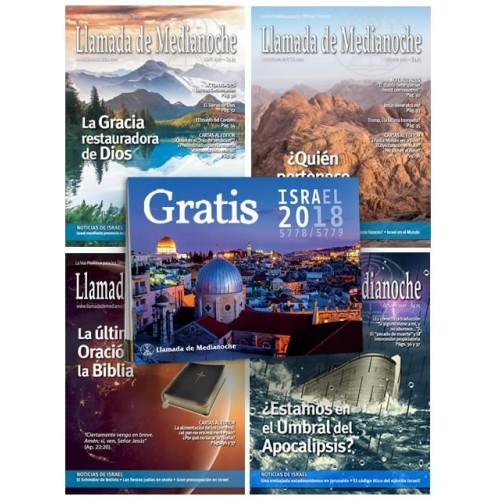 Suscripción ANUAL Revista + Almanaque de Israel 2018