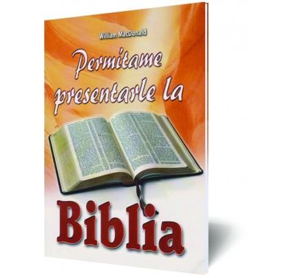 Permítame presentarle la Biblia